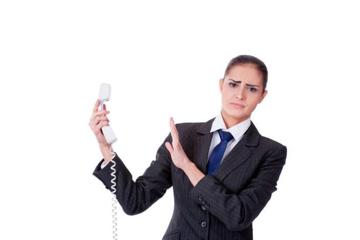 会社への営業・勧誘電話は断りづらい